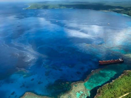 Bulker spills 1,000 tons of oil into sea