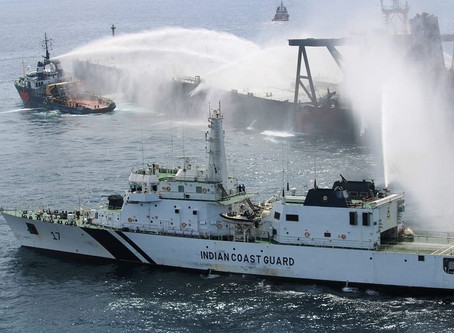 X-Press feeder ship fire put out, Indian Coast Guard says
