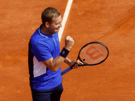 Evans stuns world No.1 Djokovic in Monte Carlo