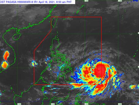 Severe tropical storm 'Surigae' enters PAR, now called 'Bising'