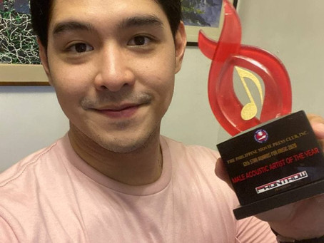 Jeric Gonzales, Garrett Bolden, and other Kapuso stars honored at 12th Star Awards for Music