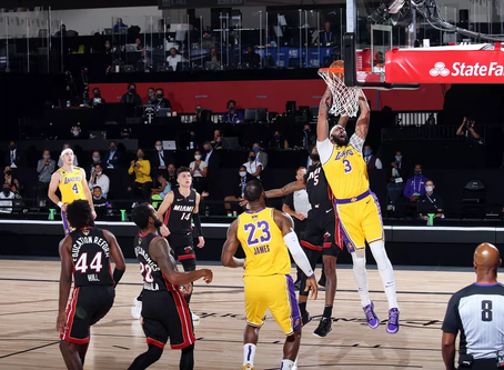 Lakers too hot for Heat to handle in Game 1 win