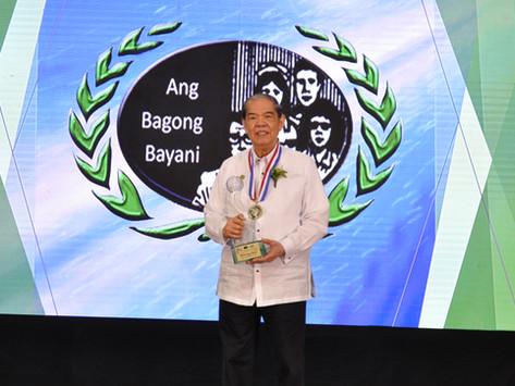 PJMCC President Honored in 2018 Bagong Bayani Awards