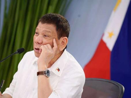 Duterte unfazed by ICC move to pursue probe on drug war