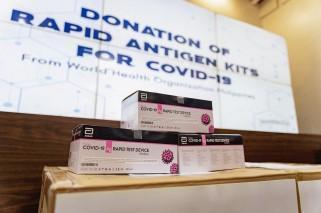 WHO Philippines donates 1,500 COVID-19 rapid antigen test kits to BJMP-NCR