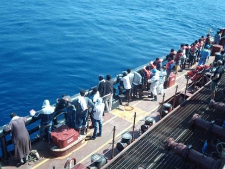 NGO Accused of Taking on Maersk Etienne's Rescued Migrants for Pay