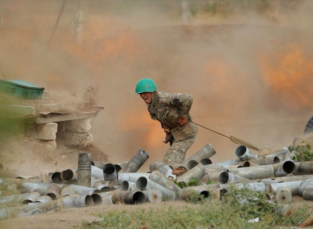 France and Turkey at odds as Karabakh fighting divides NATO allies