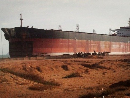 Sales of Tankers for Scrap Hit 39-Month High in September