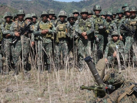 Military says terror threat in Philippines 'moderate' amid Japan's warning
