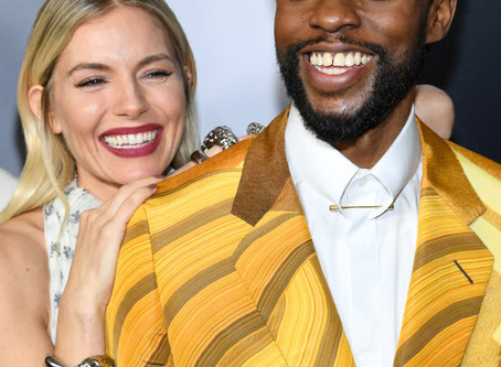 Chadwick Boseman gave part of his salary to '21 Bridges' costar Sienna Miller