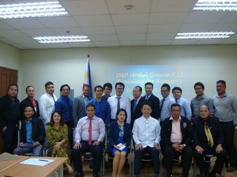 IMMAJ-PJMCC Foundation, Inc. completes Third Delivery of IMO Model Course 3.12 Training for Assessor