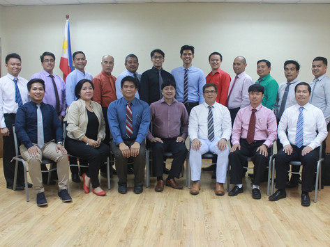 THE IMMAJ-PJMCC FOUNDATION, INC. CONCLUDES THE FIFTH DELIVERY OF  IMO MODEL COURSE 6.09