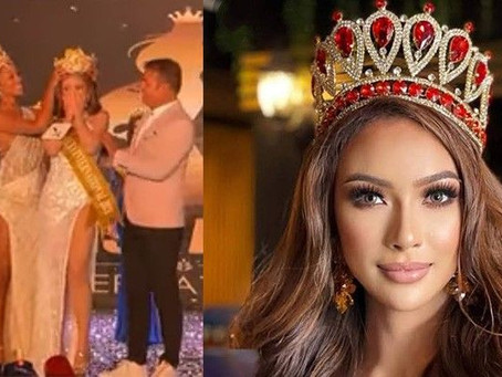 Olongapo beauty wins Miss Aura Int'l 2021 crown