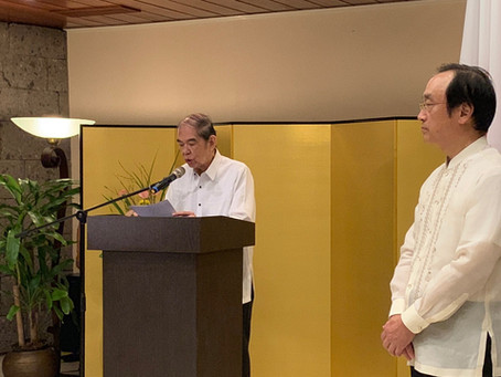 PJMCC, AMOSUP Receive Commendations from the Japanese Minister for Foreign Affairs