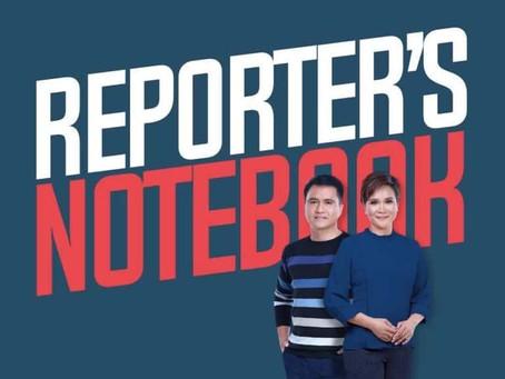 Reporter's Notebook wins in 2021 New York Festivals