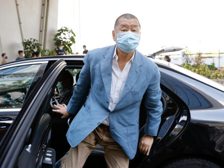 Hong Kong tycoon Jimmy Lai, two others plead guilty to illegal assembly