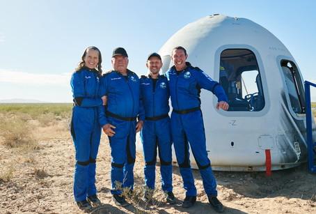 'Star Trek' actor William Shatner becomes world's oldest space traveler