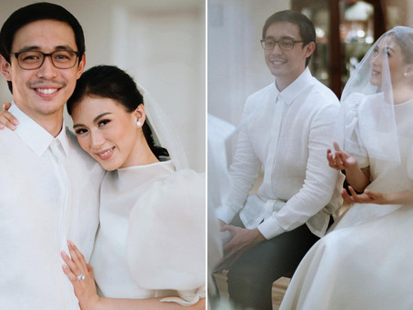Alex Gonzaga and Mikee Morada are married!