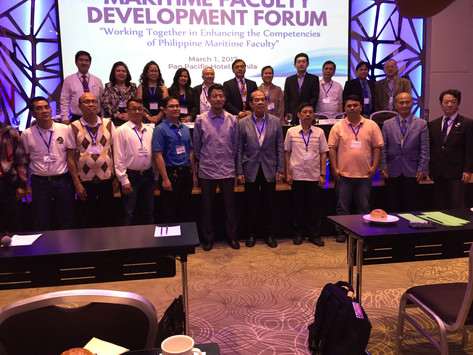 Series of Forums to Identify Gaps to Enhance Competencies of the Philippine Maritime Faculty