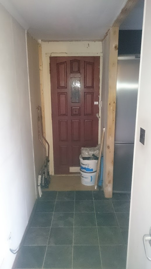 The soon to be second toilet_