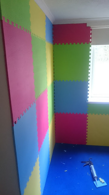 Sensory room walls completed!