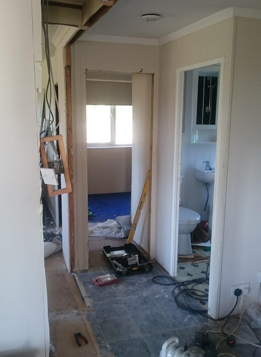 The introduction of wider doorways and h