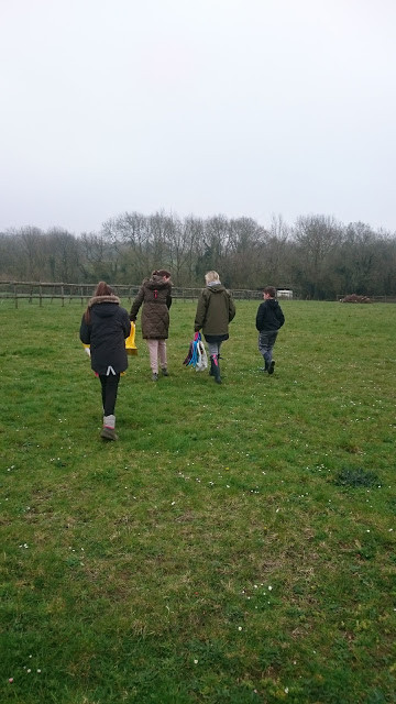 Off on our Woodland Walk