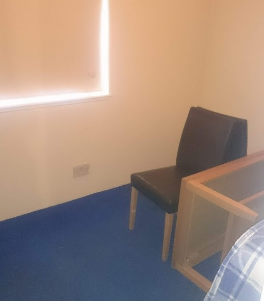 The soon to be sensory room