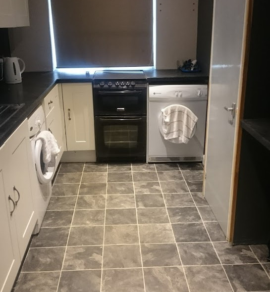 Our ready to go Kitchen space!