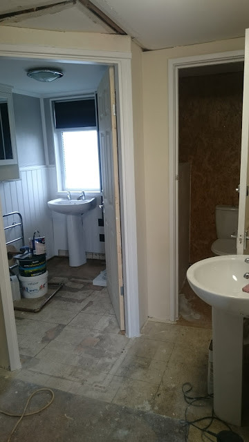 conversion of our shower room and second