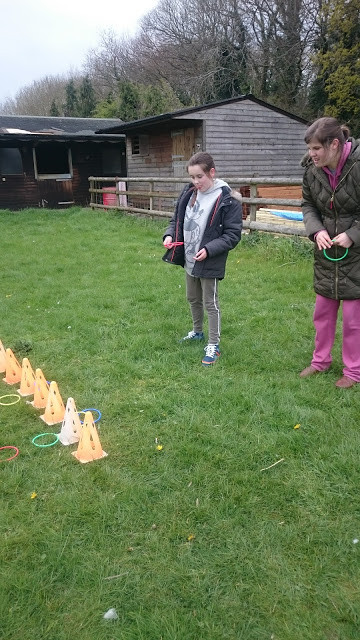 Organised fun at our Easter Respite