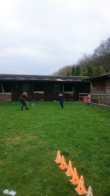 Outdoor play at our Easter Respite