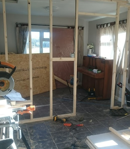 The beginnings of a room split for learn