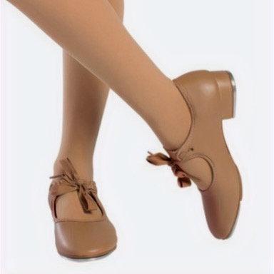 So Danca TA35 - Child Beginner Tyette Vegan Tap Shoe with Elastic Snaps