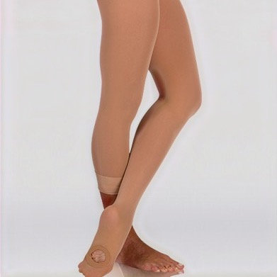 Bodywrappers A31 - Adult Total-Stretch Seamless Convertible Tights