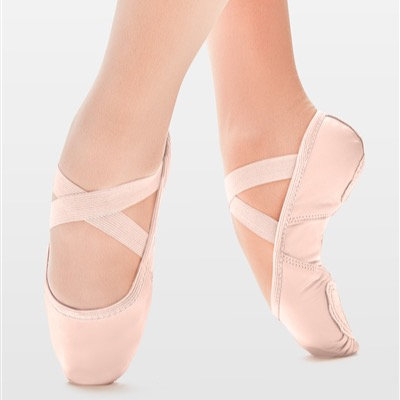So Danca SD110 - SuperPro Adult Leather Split Sole Ballet Shoe