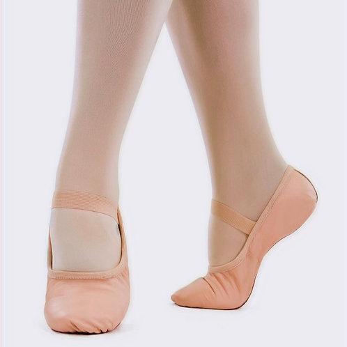 So Danca SD69 - Child Premium Leather Full Sole Ballet Slipper