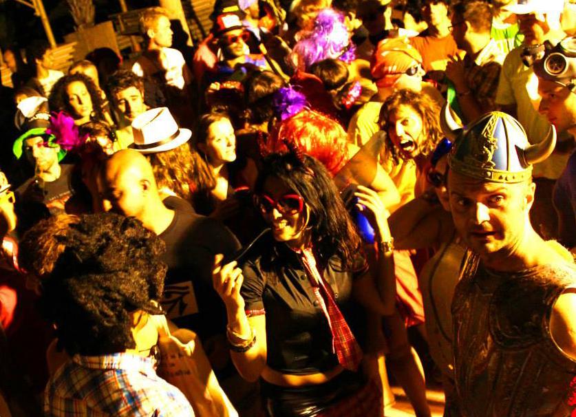 the Flash Mob, 2012