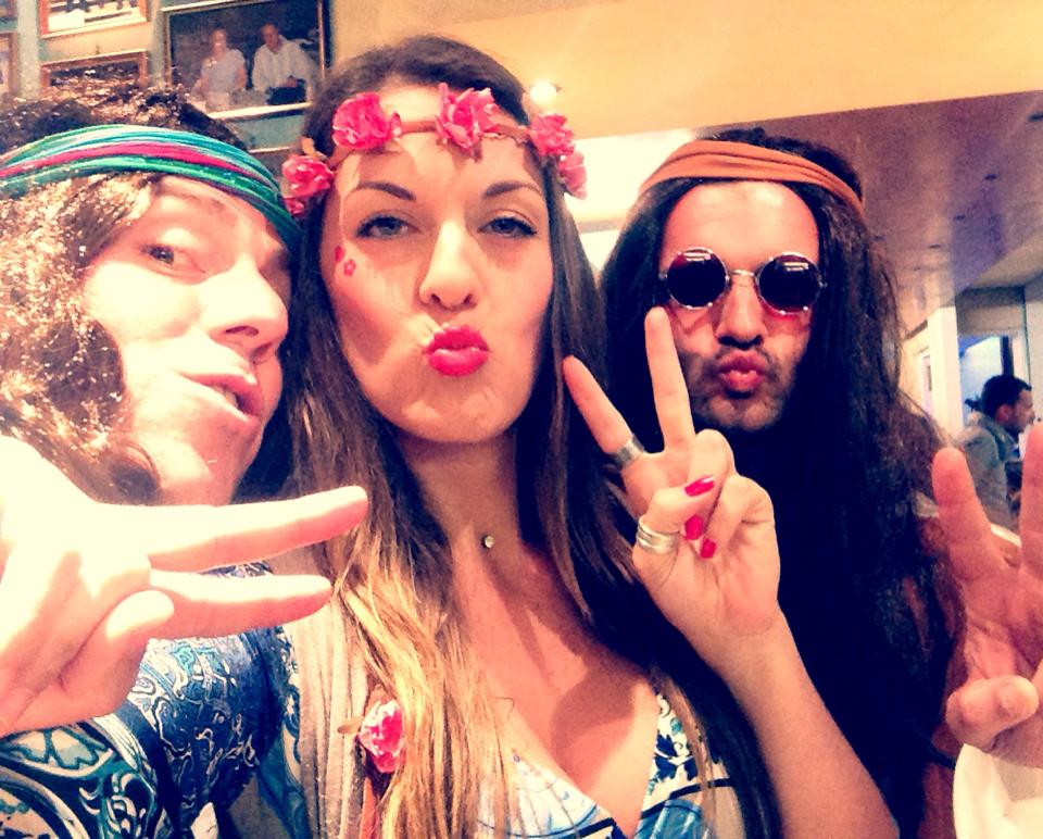 THE HIPPIES PARTY, 2014