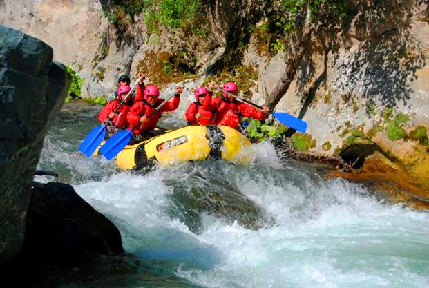 white water rafting, classic