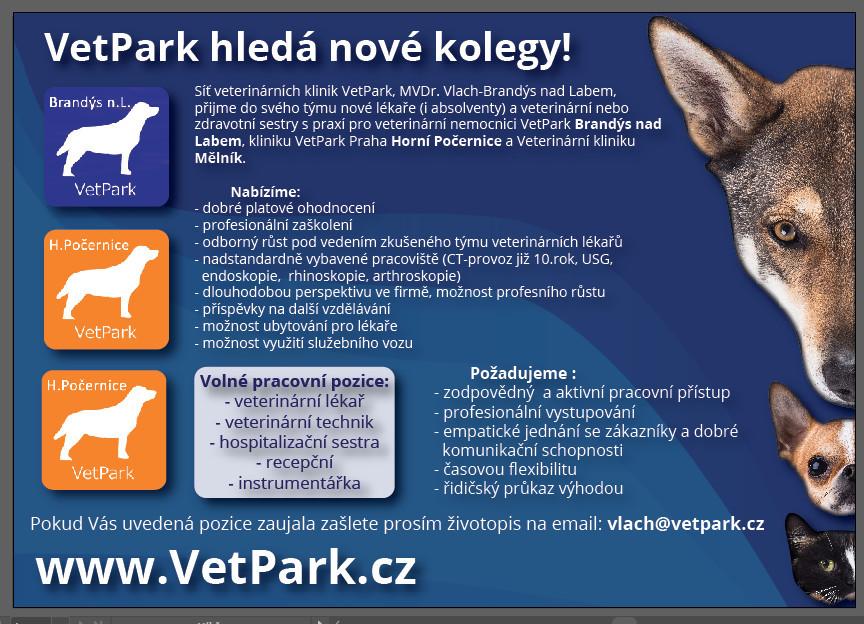 Nabídka práce pro veterináře