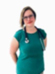 Veteriánírní lékařka MVDr. Alexandra Kolárová