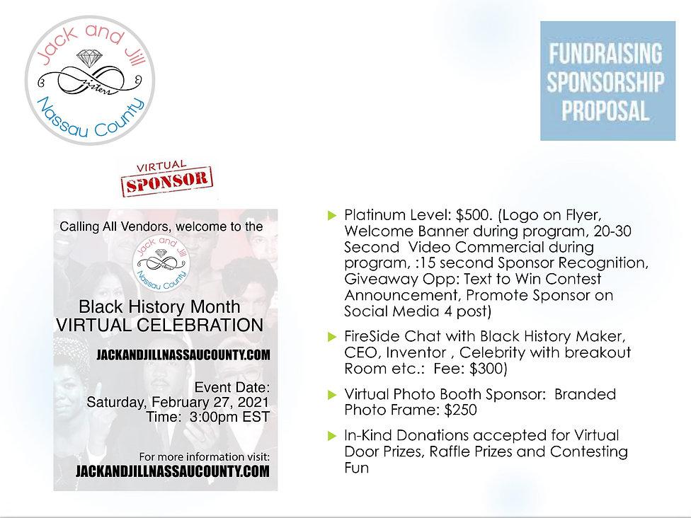 JJNC Fundraising BHM Sponsorship Packet-