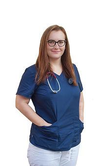 Veterinářka MVDr. Lenka Pokorná