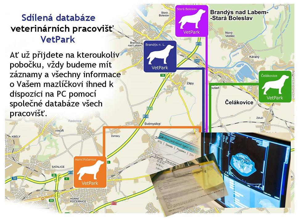 Veterinární nemocnice, klniky a ordinace VetPark