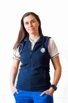 Veterinářka MVDr. Klára Bobáková