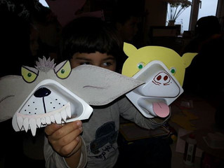 Puppet show and puppet making party - Peppa Pig and the mighty Wolf!