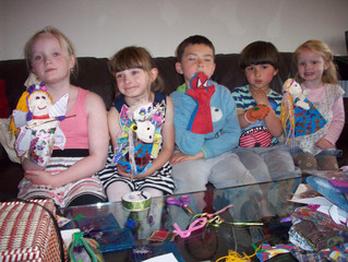 Puppet Making with Families & Kids