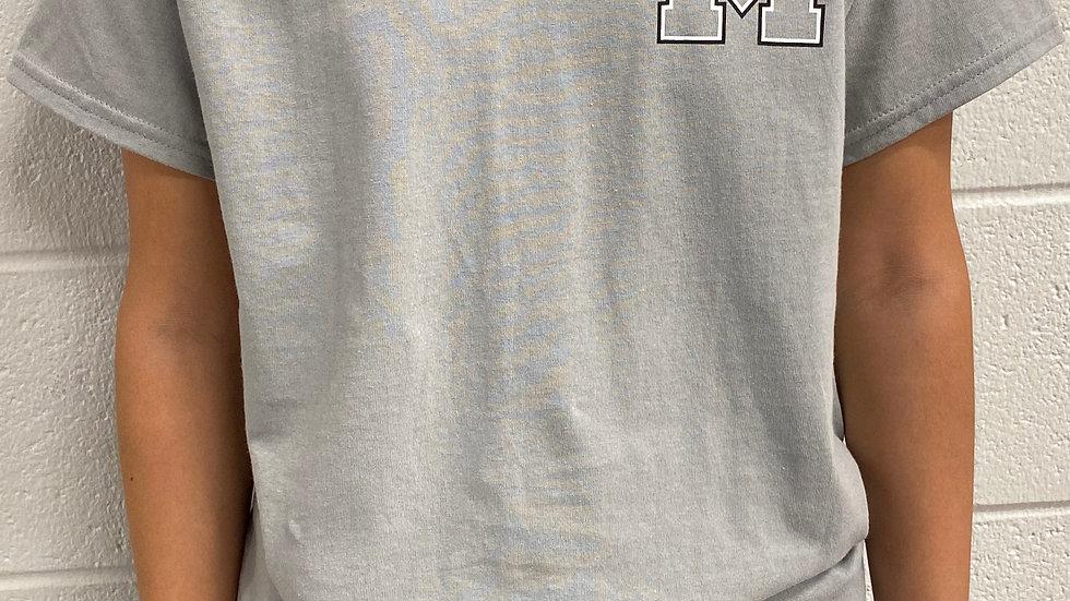 Grey Building T-shirt