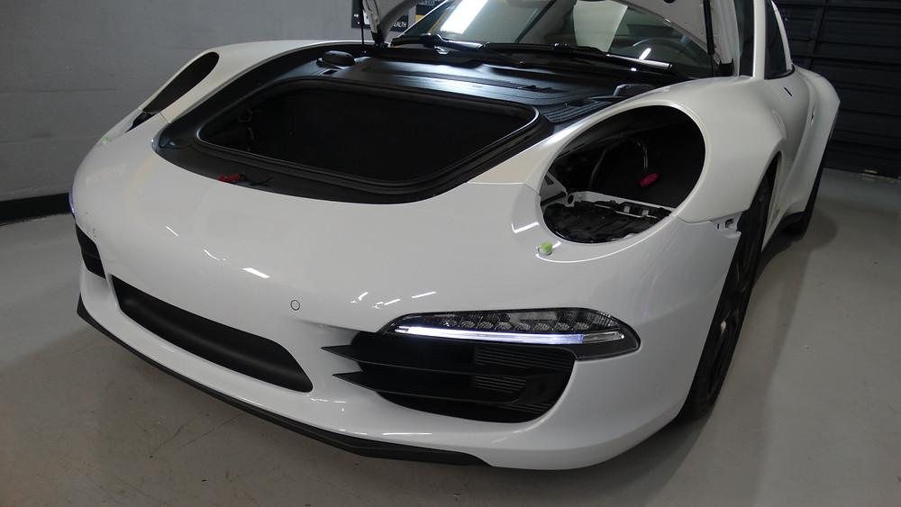 Porsche 911 targa 4S - Porsche stripes - Porsche 911 - Porsche Racing - Car wrap miami - vinyl wrap